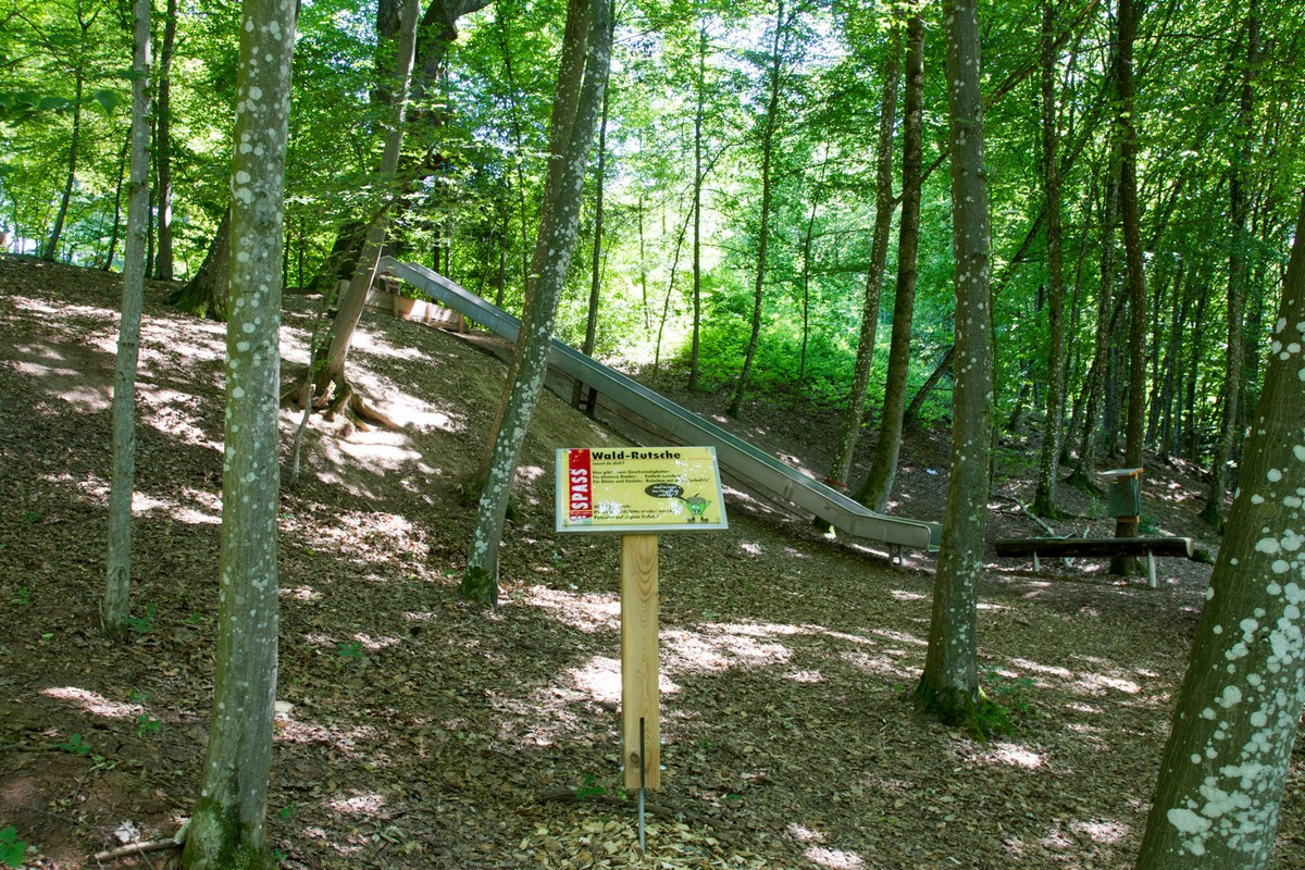 Wald-Rutsche