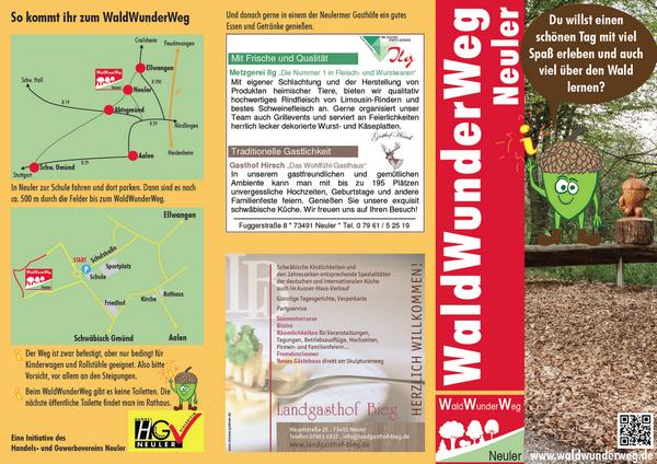 Waldwunderweg-Flyer-Titel